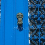 BLUE DOOR. MYKENOS
