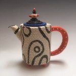 BLACKLINE MINI TEAPOT