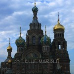 CHURCH OF OUR SAVIOR ON SPILLED BLOOD. ST PETERSBURG